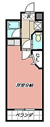 ステップビル[506号室]の間取り