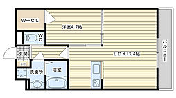 la maison felicia ラ・メゾン・フェリシア[105B号室]の間取り