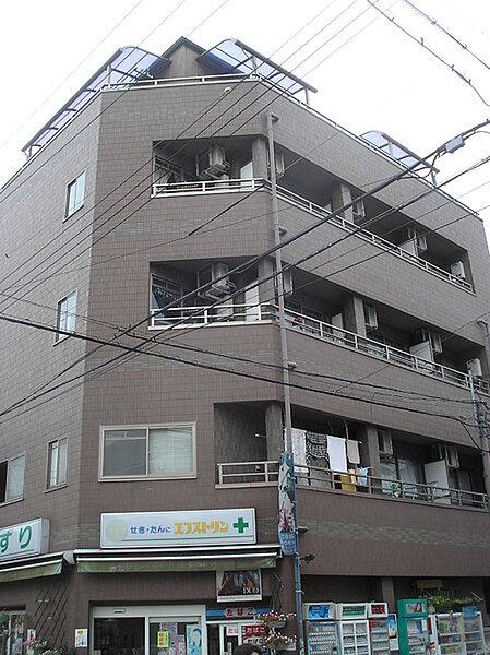 ヒカリマンション[4階]の外観