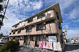 栃木県宇都宮市駒生町の賃貸マンションの外観