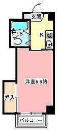 セルリアンブルー[3階]の間取り