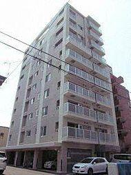 北海道札幌市中央区南十五条西13丁目の賃貸マンションの外観