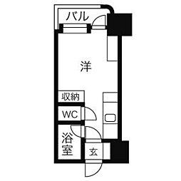 アンセリジェ壱番館[11階]の間取り