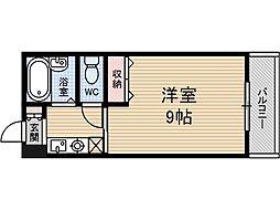 ローズビルウチダ[2階]の間取り