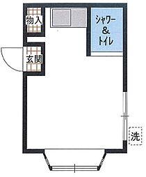 埼玉県新座市栗原3丁目の賃貸マンションの間取り