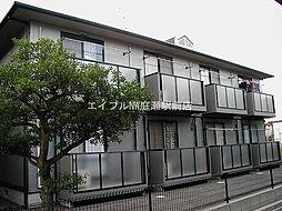 岡山県岡山市北区花尻あかね町の賃貸アパートの外観