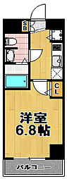カインド四貫島[3階]の間取り