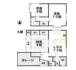 [一戸建] 石川県金沢市三口町火 の賃貸【/】の間取り
