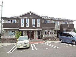 愛媛県松山市今在家3丁目の賃貸アパートの外観