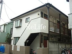 東京都小平市学園東町1丁目の賃貸アパートの外観