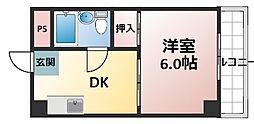 ビスタ新庄ハイツIII[4階]の間取り