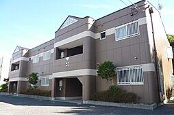 滋賀県野洲市永原の賃貸マンションの外観