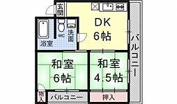 ロイヤルマンション[305号室号室]の間取り