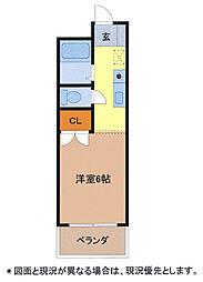 メゾンド・ルポ[2階]の間取り