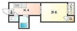 ツーステーション[3階]の間取り