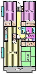 マウントフィールド大宮壱番館[2階]の間取り