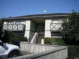 福岡県糟屋郡粕屋町長者原西2丁目の賃貸アパートの外観