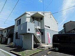 福岡県北九州市小倉北区赤坂1丁目の賃貸アパートの外観