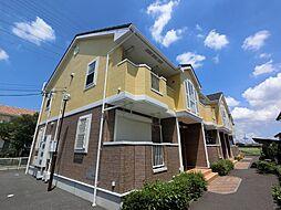 千葉県富里市七栄の賃貸アパートの外観