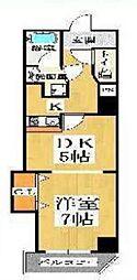 クレシア東心斎橋[203号室号室]の間取り