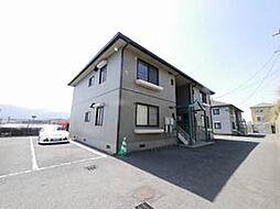 福岡県北九州市若松区童子丸2丁目の賃貸アパートの外観