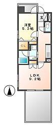 FORZA泉(フォルザ)[5階]の間取り