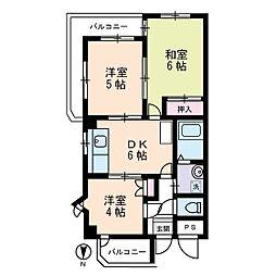 マインドホームズ[3階]の間取り