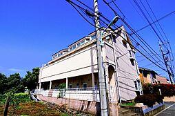 東京都東久留米市中央町1丁目の賃貸アパートの外観