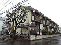 埼玉県所沢市美原町5丁目の賃貸アパートの外観