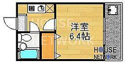 森マンション6[301号室号室]の間取り