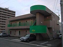 山形県山形市桜田東二丁目の賃貸アパートの外観