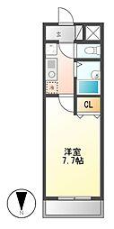 ユーステージ栄[2階]の間取り