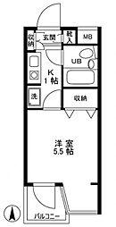 上板橋ダイカンプラザシティ[3階]の間取り