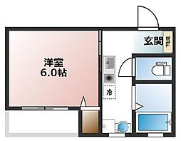 大物新築アパート[1階]の間取り