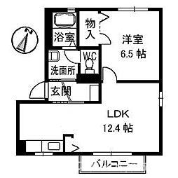 リッシュ良庵III[2階]の間取り