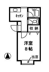 メディカルハイツ[2階]の間取り