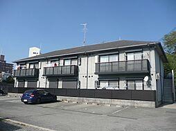 大阪府茨木市下井町の賃貸アパートの外観