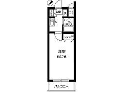 マイステージ立川[3階]の間取り