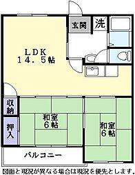 Nasu7[305号室]の間取り