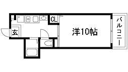 山仁サツキハイツ2[2階]の間取り