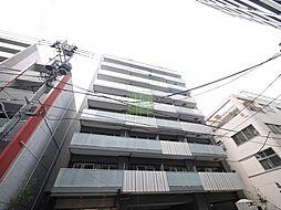 東京都台東区柳橋2丁目の賃貸マンションの外観