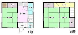 [一戸建] 広島県広島市西区己斐上4丁目 の賃貸【/】の間取り