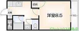 セ・ミューSUEHIRO[301号室]の間取り