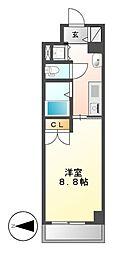 HF久屋大通レジデンス[12階]の間取り