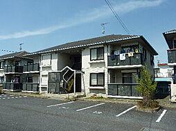 茨城県那珂郡東海村東海2丁目の賃貸アパートの外観