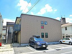奈良県奈良市西木辻町の賃貸アパートの外観