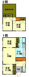 [一戸建] 北海道小樽市赤岩2丁目 の賃貸【北海道 / 小樽市】の間取り