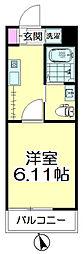 (仮称)青葉区台原共同住宅B棟[202号室]の間取り