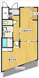 大塚SSマンション[3階]の間取り