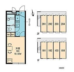 クランベリー[2階]の間取り